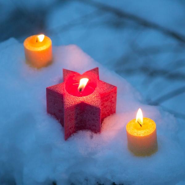 Weihnachtskarte - Winter-Trio