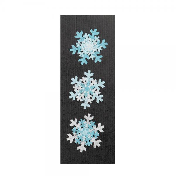 Schneegestöber Schneeflocken mit Magnet