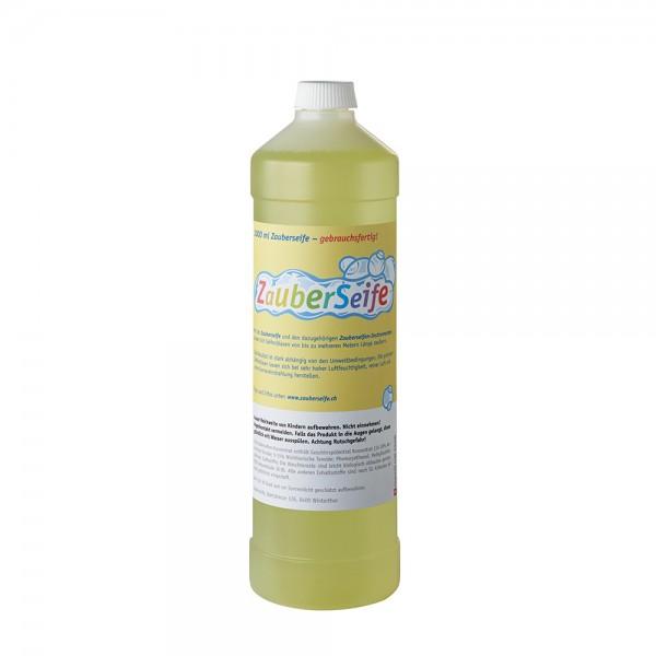 Zauberseife Seifenblasenmischung gebrauchsfertig 1000 ml