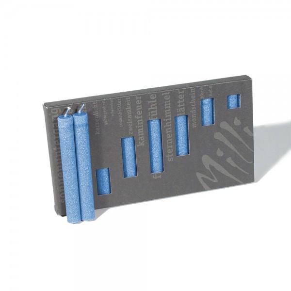 P10009 - Baumkerzen Milli, marineblau, Durchmesser 12mm, Länge 100mm