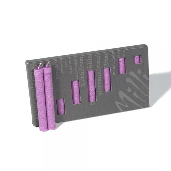 P10013 - Baumkerzen Milli, pink, Durchmesser 12mm, Länge 100mm