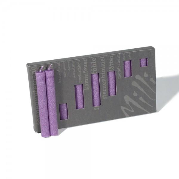 P10010 - Baumkerzen Milli, violett, Durchmesser 12mm, Länge 100mm