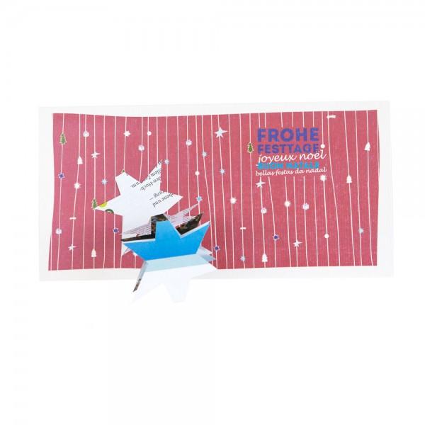910151 - Konturenkarte - Weihnachten