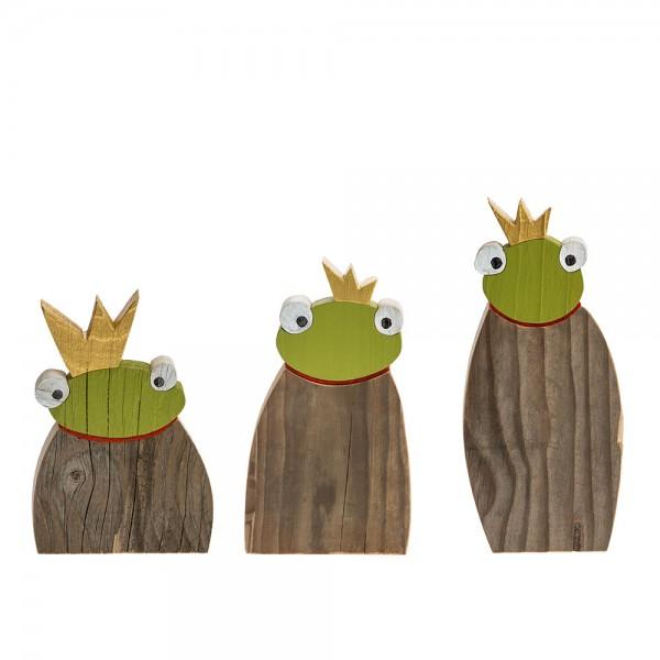 Froschkönig Set (3 Stk. assortiert)