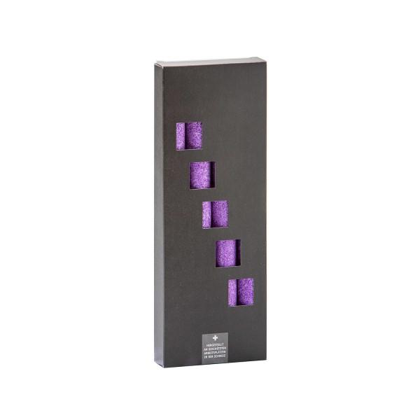 Stabkerze violett