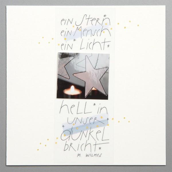 910099 - Ein Stern, ein Mensch, ein Licht... - SOLANGE VORRAT