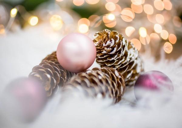 Weihnachtskarte - Lichtermeer