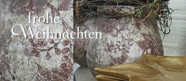 910764 - Windlicht (3 Stk.): Frohe Weihnachten (Töpfe)