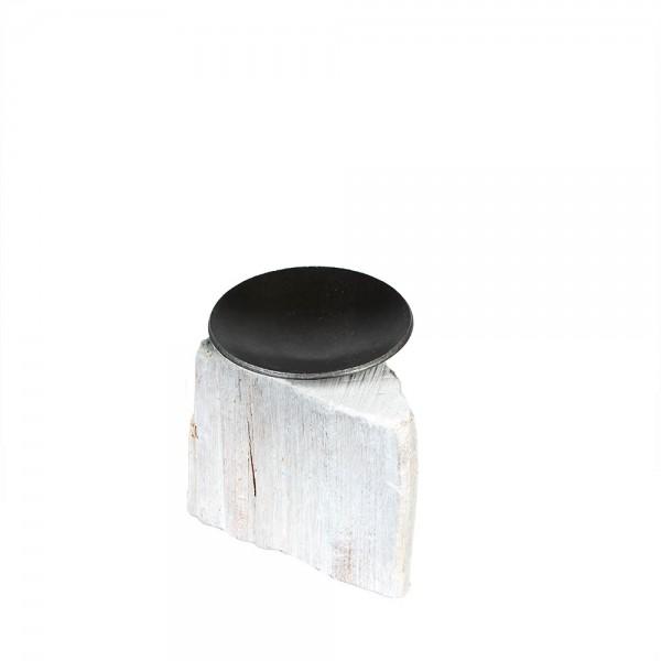 911754 - Kerzenständer Heimelig Metallschale (Buche) midi