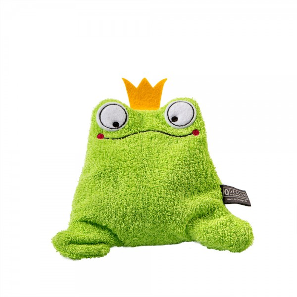 Fredi Froschkönig Chriesistei-Wärmekissen, grün