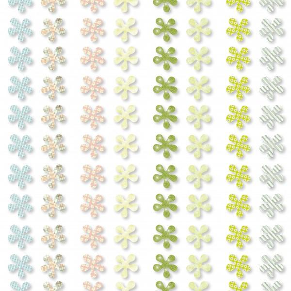 Bunte Papier Streublumen Als Tischdekoration Im Fruhling Und Sommer