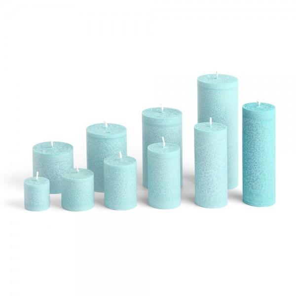 blockkerze t rkis 50mm h he 150mm blockkerzen. Black Bedroom Furniture Sets. Home Design Ideas