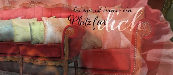 910732 - Windlicht (3 Stk.): Bei mir ist immer Platz für dich (Stilbild Sofa)