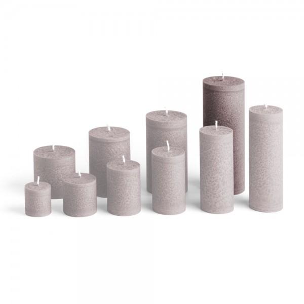 E17525 - Blockkerze sand, Durchmesser 65mm, Höhe 175mm