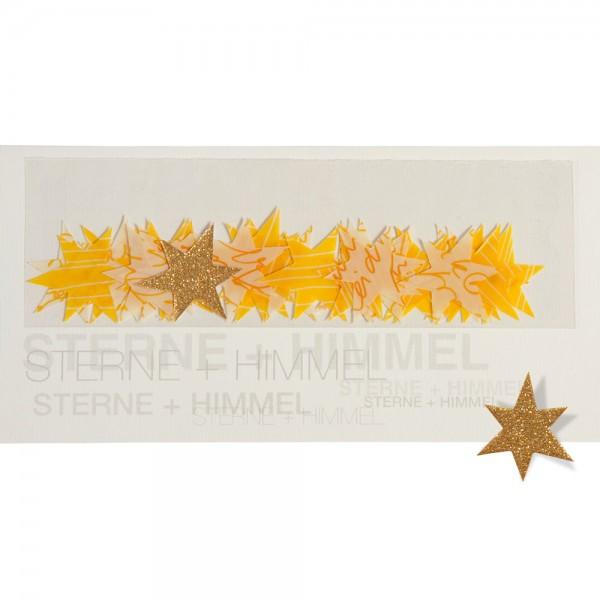 """909996 - Tischdekokarte """"Sterne + Himmel"""""""
