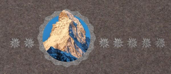 910867 - Windlichtkarte Urchig - Matterhorn