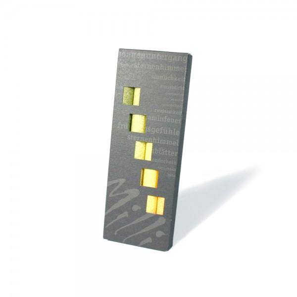 G063 - Geschenkbox 4er Stabkerzenböxli G063