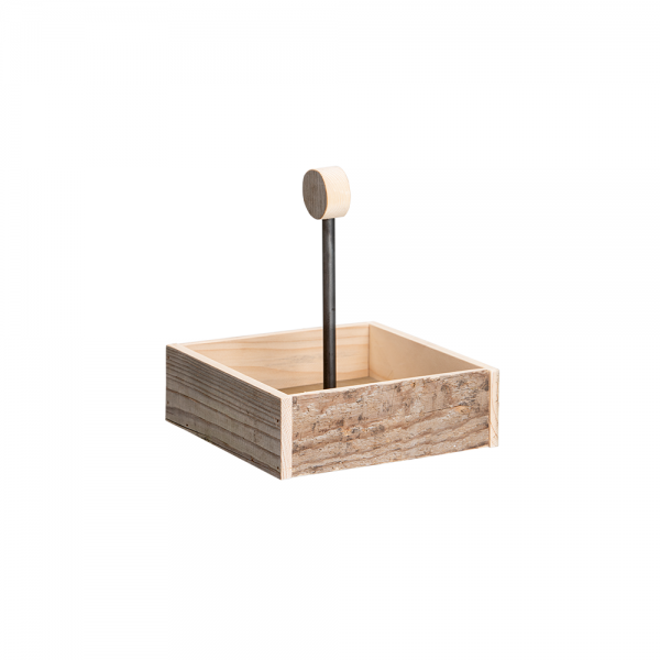 Tischlichischtli Ménage Servierbrett WECKgläser Geschenkbox gedeckter Tisch Serviettenbox