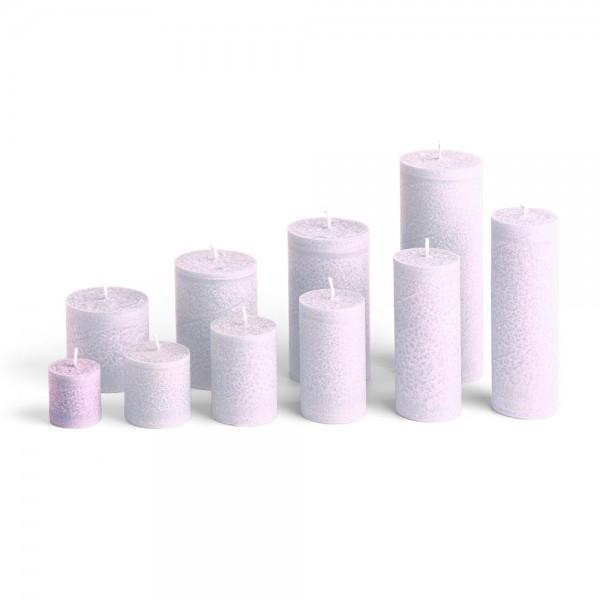 C04011 - Blockkerze lila, Durchmesser 38mm, Höhe 40mm