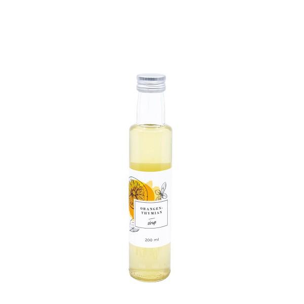 Orangen-Thymian Sirup