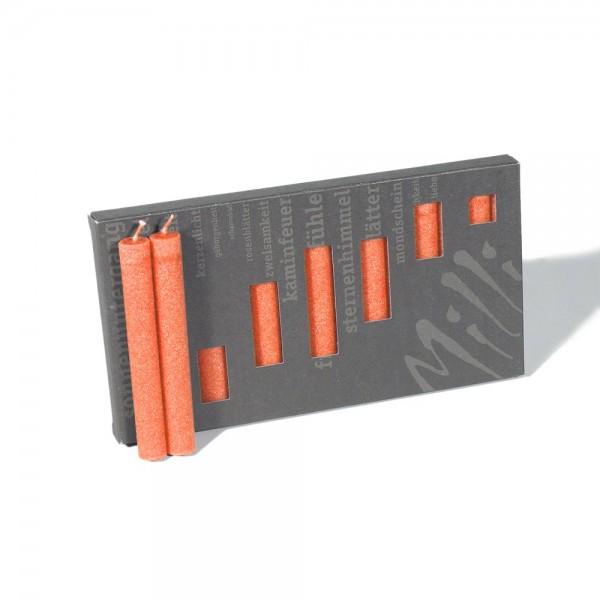 P10018 - Baumkerzen Milli, orange, Durchmesser 12mm, Länge 100mm