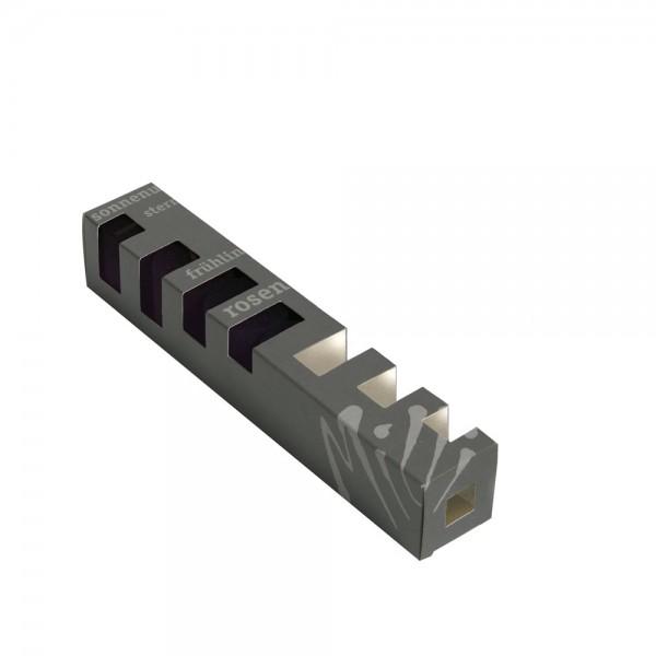 C040boxleer - Geschenkböxli leer 6er Blockkerzen 10er Set