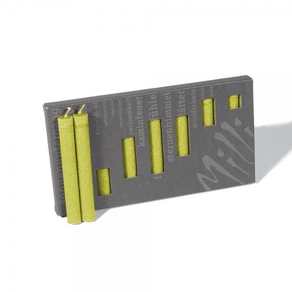 P10023 - Baumkerzen Milli, hellgrün, Durchmesser 12mm, Länge 100mm