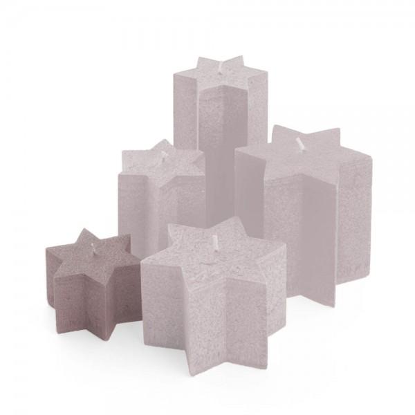 Sternkerzen sand, ⌀100mm, Höhe 60mm