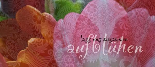 910641 - Windlichtkarte: Lass uns zusammen aufblühen (Rosenblüten)