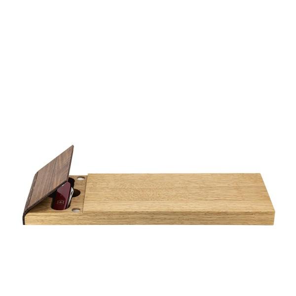 Picknick-Brettli - mit Messer
