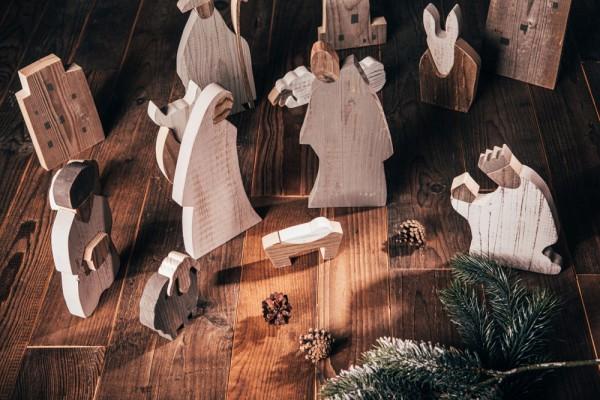 """Krippenfiguren """"Bethlehem by Night"""" - Krippe komplett"""
