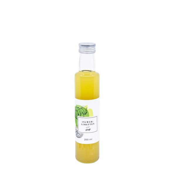 Ingwer-Limetten Sirup