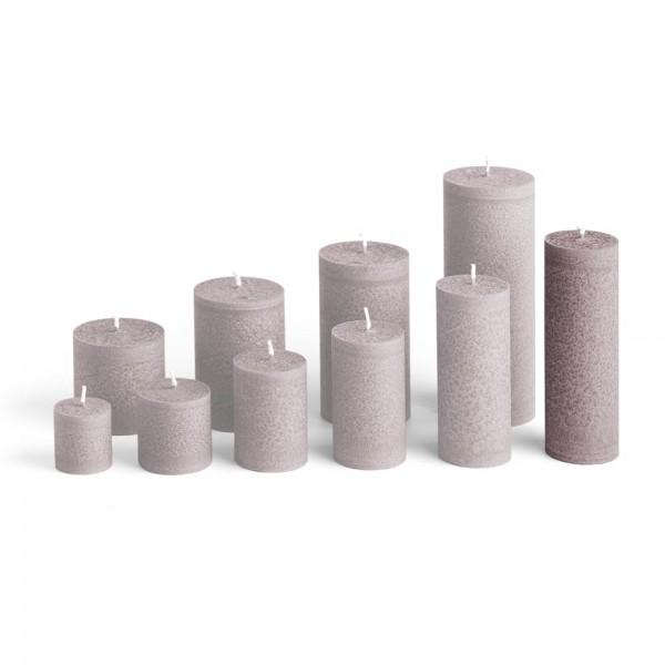 D15025 - Blockkerze sand, Durchmesser 50mm, Höhe 150mm